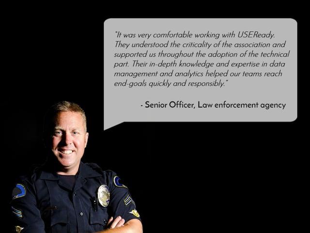 US LAW ENFORCEMENT AGENCY LEVERAGES TABLEAU TO REINFORCE INFORMATION STRUCTURE, VERDICT LAW OFFENDERS & ACCELERATE JUSTICE PROCESSES