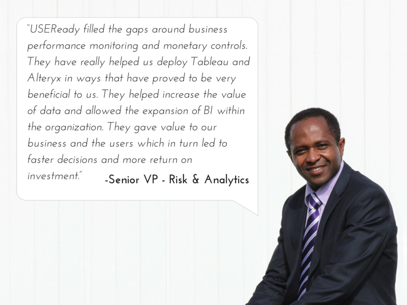 BUSINESS FINANCING FIRM BUILDS ANALYTICS AND REPORTING SYSTEM USING ALTERYX AND TABLEAU FOR APPLICANT PROFILING, RISK ASSESSMENT AND BUSINESS MONITORING