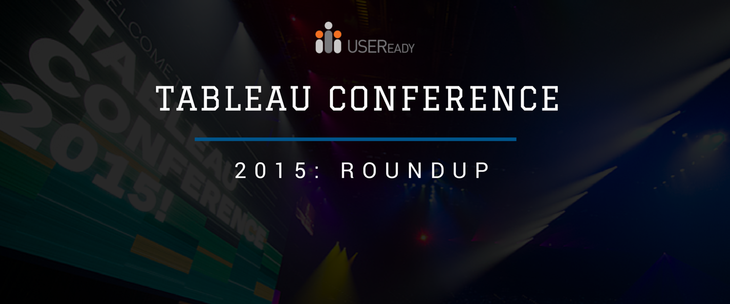Tableau conference 2015: Roundup