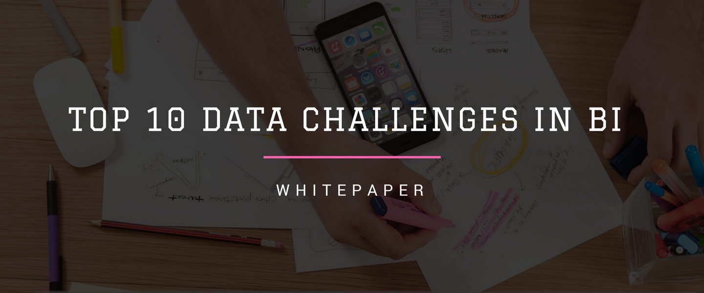 Top 10 data challenges in BI and tackling those using Alteryx